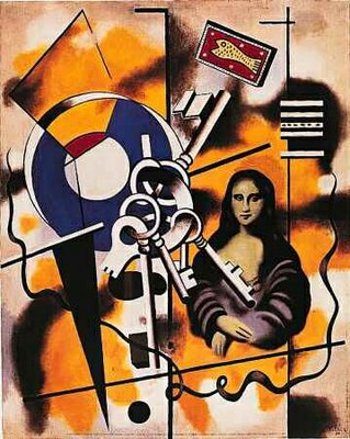 Joconde auz clefs by Fernand Leger