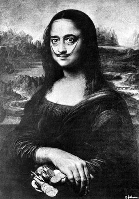 Mona Lisa by Salvador Dali