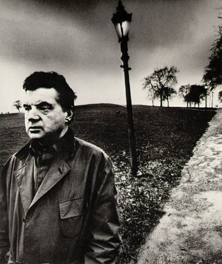 photo: Francis Bacon © Bill Brandt, 1963.
