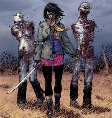 umas e outras the walking dead michonne